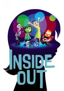 cartel de la película Inside Out (Del Revés)