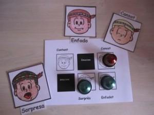foto del juego bingo de las emociones