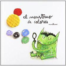 portada del cuento el monstruo de colores