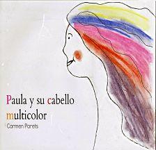 portada del cuento paula y su cabello multicolor