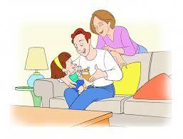 padres hablando con su hija sobre su enfado