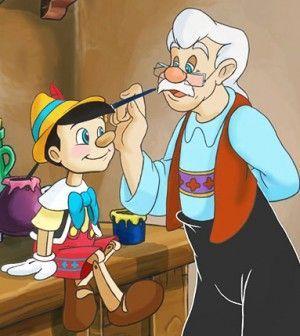 Imagen de Pinocho. Expectativa de un niño real y sincero.
