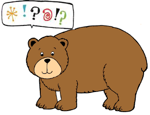 Imagen de la técnica del oso arturo indicando que se tiene un problema