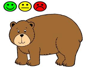 imagen del oso arturo indicando auto-valoración